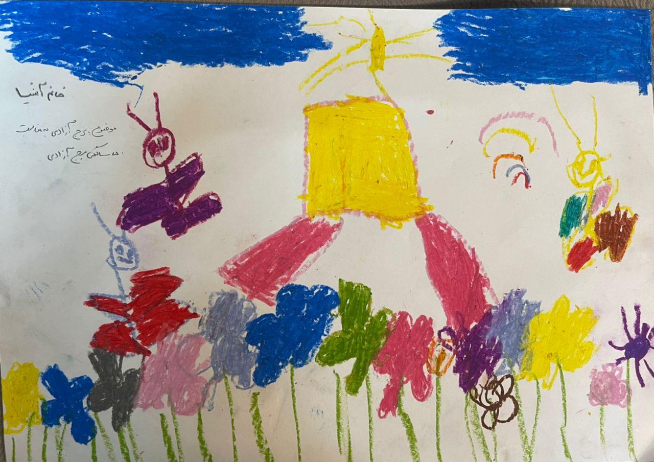 نقاشی برج آزادی (18)